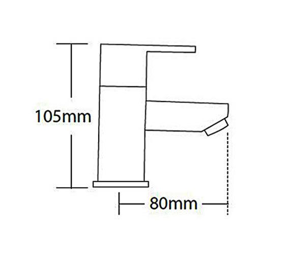 Technical drawing QS-V56250 / 45010
