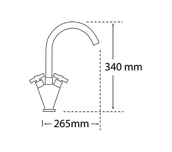Technical drawing QS-V56289 / 90030