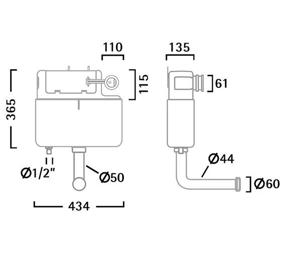 Technical drawing QS-V56313 / VOR790