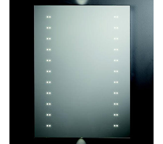 Alternate image of Tavistock Refraction LED Illuminated Mirror 550mm x 750mm - SLE410