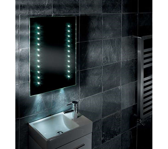 Image 2 of Tavistock Momentum LED Illuminated Bathroom Mirror 450mm x 700mm
