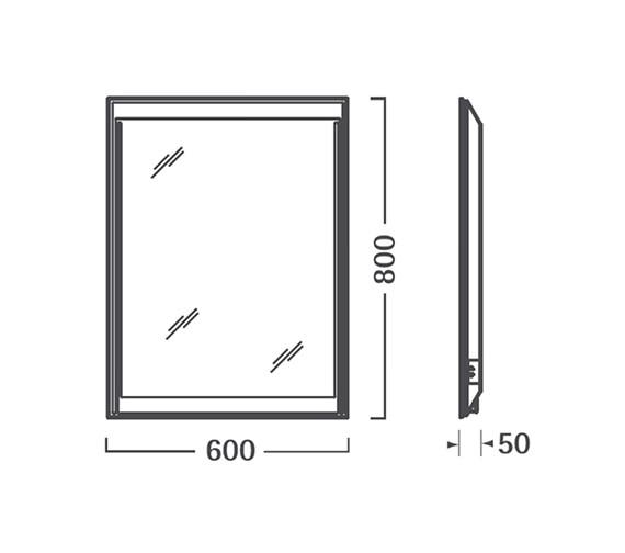 Technical drawing QS-V56334 / SBL17