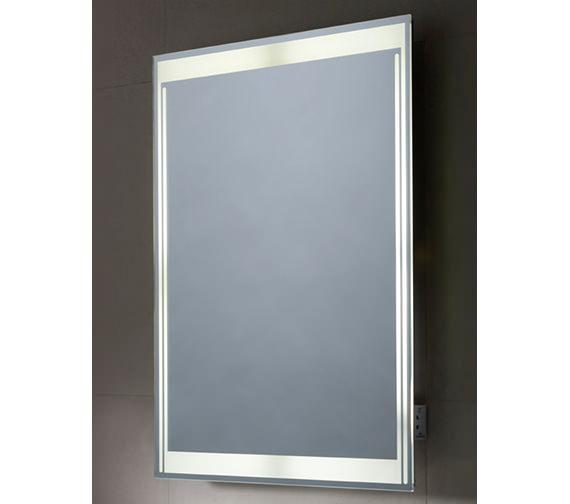 Additional image of Tavistock Equalise Back-Lit Bathroom Mirror 600mm x 800mm - SBL17