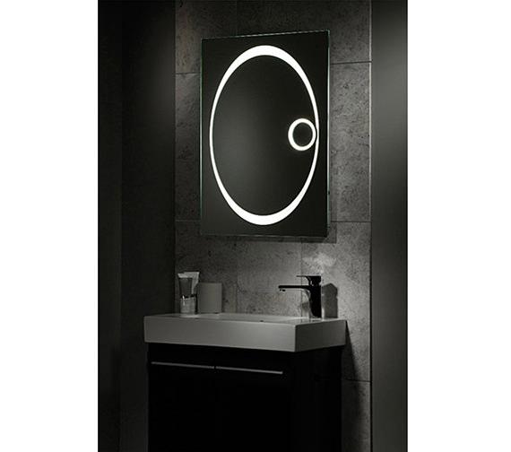Additional image of Tavistock Vapour Back-Lit Bathroom Mirror 600mm x 800mm - SBL16