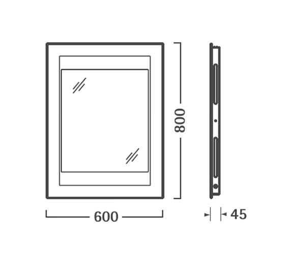 Technical drawing QS-V56336 / SBL10