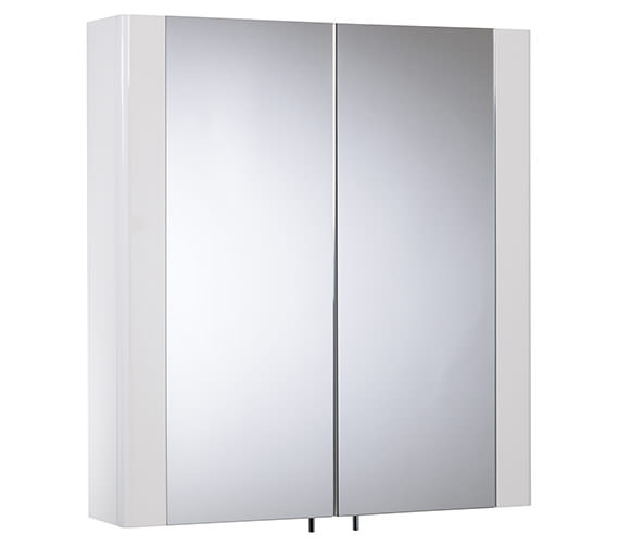 Tavistock Detail Double Mirror Doors Cabinet 600mm- DE60W