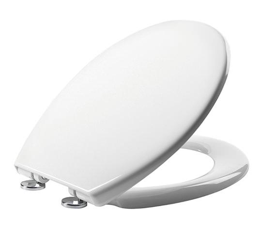 Tavistock Alpine Soft Close Thermoset Toilet Seat White