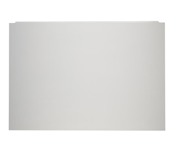 Tavistock Meridian Plain White End Bath Panel 700 x 520mm - MPP3EW