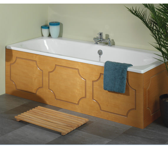 Alternate image of Tavistock Milton Front Bath Panel 1700mm White - O313