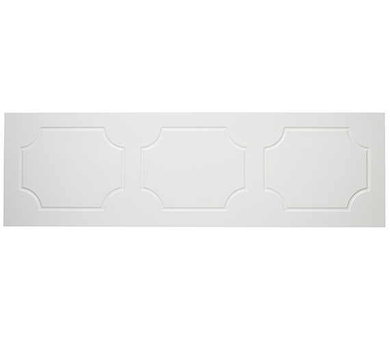 Tavistock Milton Front Bath Panel 1700mm White - O313