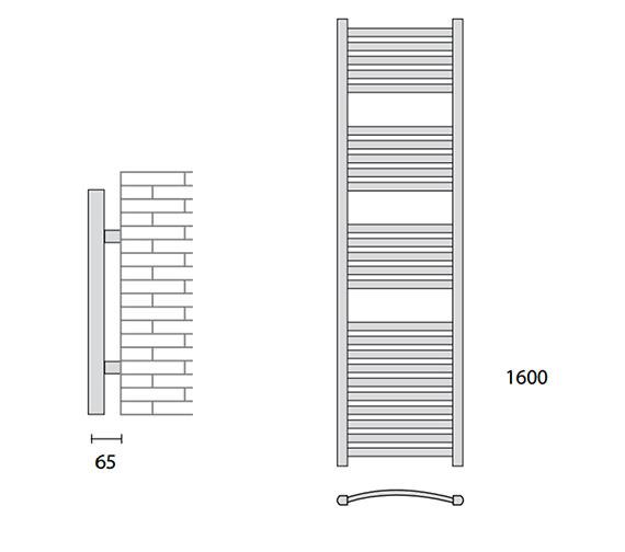 Technical drawing QS-V56421 / 148240