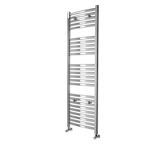 Essential Deluxe Curved Chrome Towel Warmer 600 x 803mm - 148243