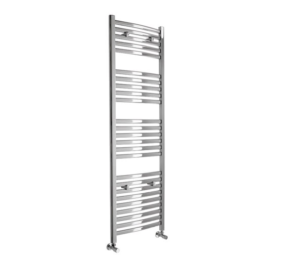 Essential Deluxe Curved Chrome Towel Warmer 500 x 1153mm - 148244