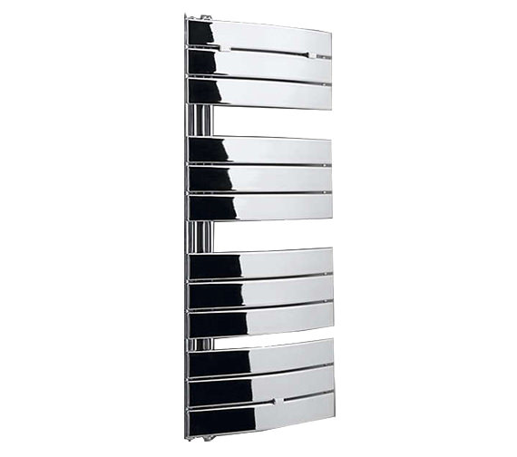 Essential Aries Curved Chrome Towel Warmer 550 x 780mm - 148250