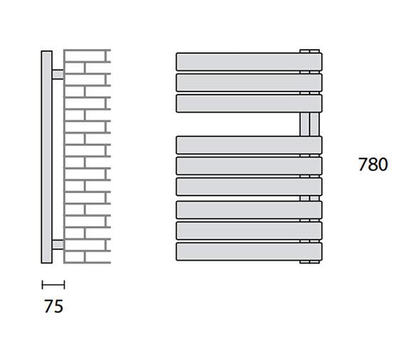 Technical drawing QS-V56435 / 148250