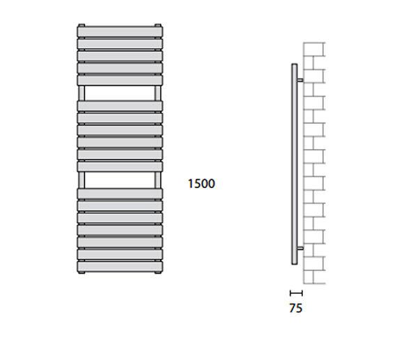Technical drawing QS-V56443 / 148256