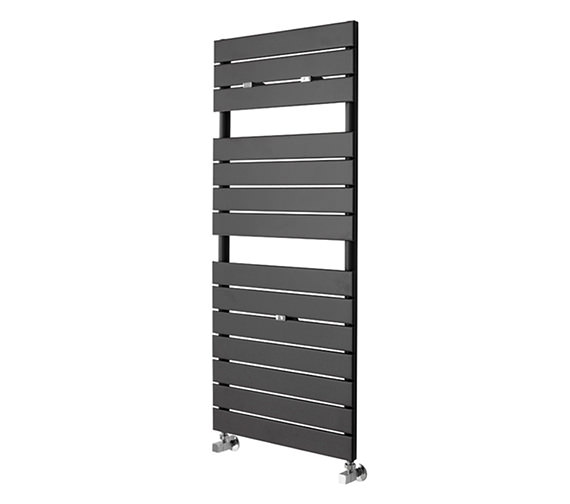 Essential Libra Straight Anthracite Towel Warmer 510 x 1200mm - 148269