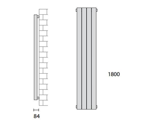 Technical drawing QS-V56449 / 148267