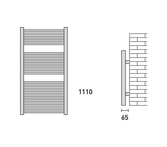 Technical drawing QS-V56455 / 148209