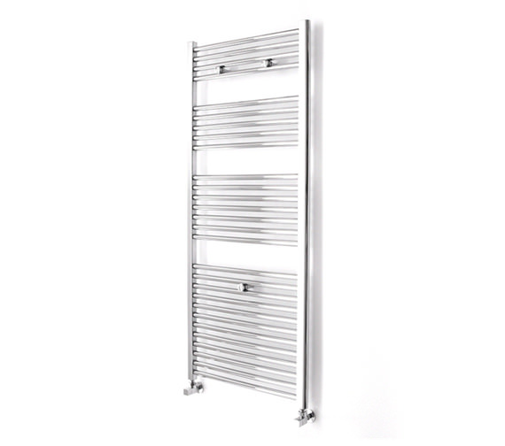Essential Straight Chrome Towel Warmer 600 x 690mm - 148224