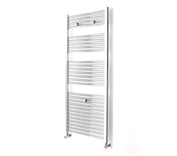Essential Straight Chrome Towel Warmer 600 x 690mm - 148224