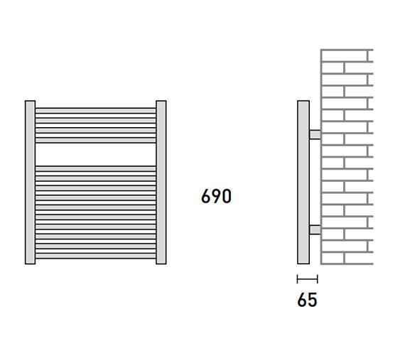 Technical drawing QS-V56462 / 148224