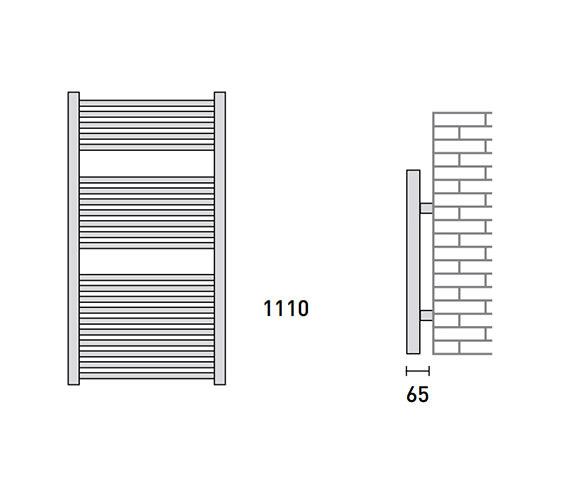 Technical drawing QS-V56463 / 148221