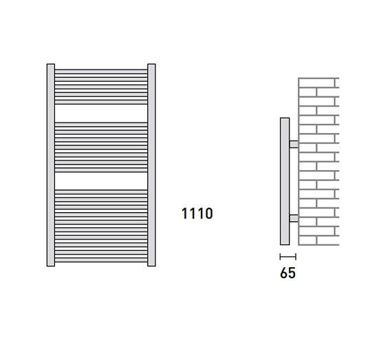 Technical drawing QS-V56472 / 148217
