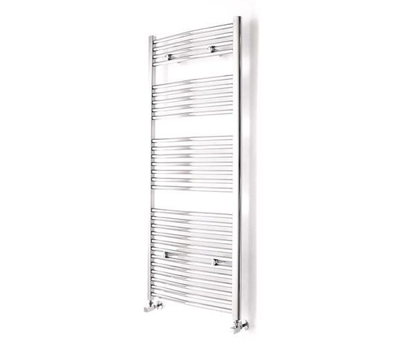 Essential Curved White Towel Warmer 500 x 1430mm - 148214