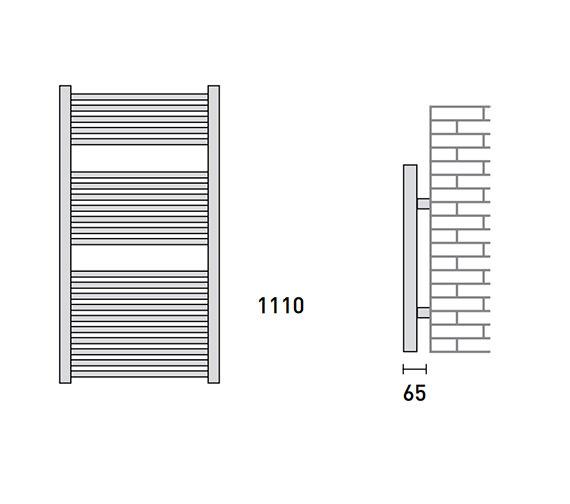 Technical drawing QS-V56480 / 148233