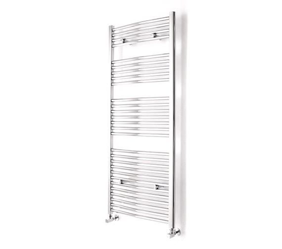 Essential Curved Chrome Towel Warmer 600 x 1700mm - 148235