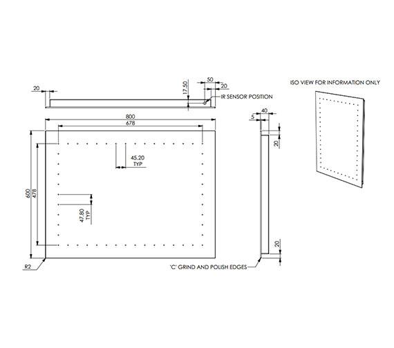 Technical drawing QS-V56498 / 100006