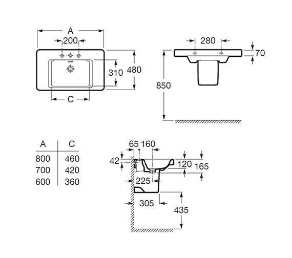 Technical drawing QS-V56671 / 327650000