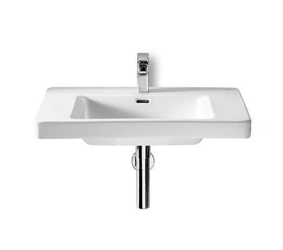 Roca Khroma Wall Hung White Basin 600mm Wide - 327652000
