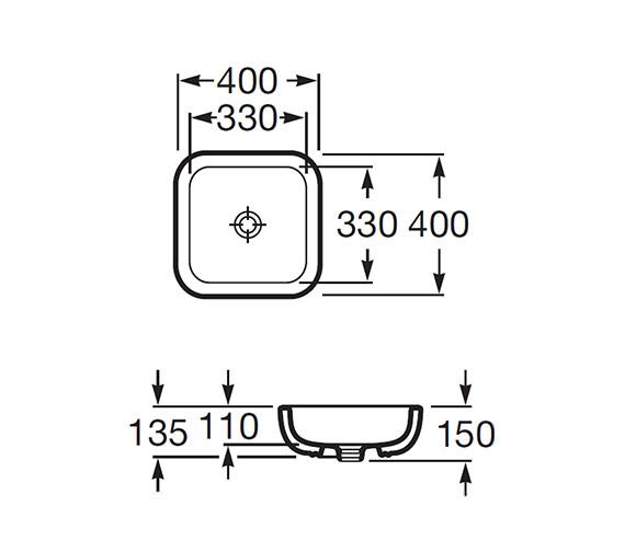 Technical drawing QS-V56675 / 327654000