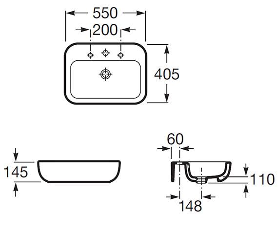 Technical drawing QS-V56676 / 327653000
