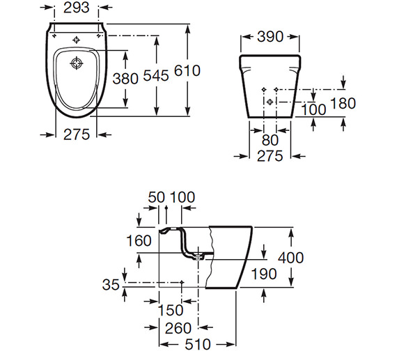 Technical drawing QS-V56679 / 357657000