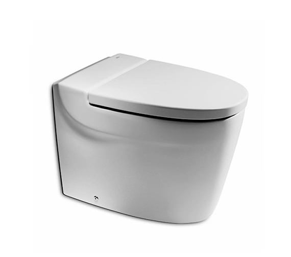 Roca Khroma White Back To Wall WC Pan 610mm - 347657000
