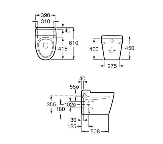 Technical drawing QS-V56681 / 347657000