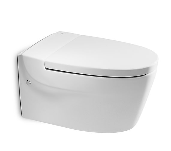 Roca Khroma White Wall Hung WC Pan 610mm - 346657000