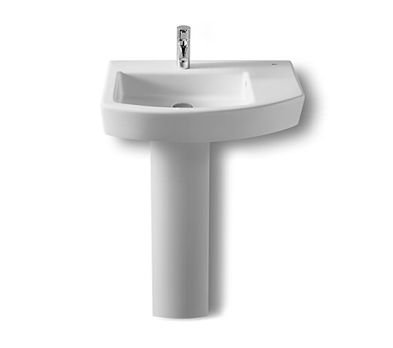 Additional image of Roca Hall Offset Asymmetrical Basin 650mm Width - 327620000