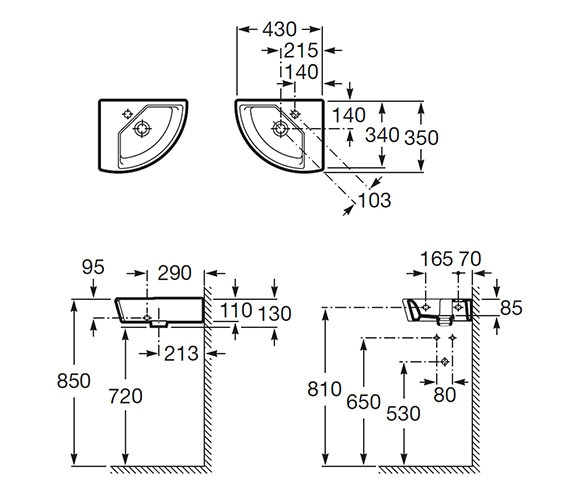 Technical drawing QS-V56704 / 327622000