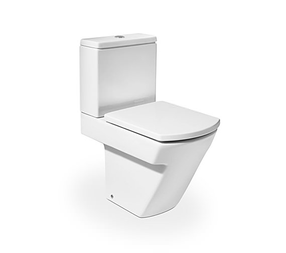 Roca Hall Close Coupled WC Pan With Cistern 595mm - 342627000