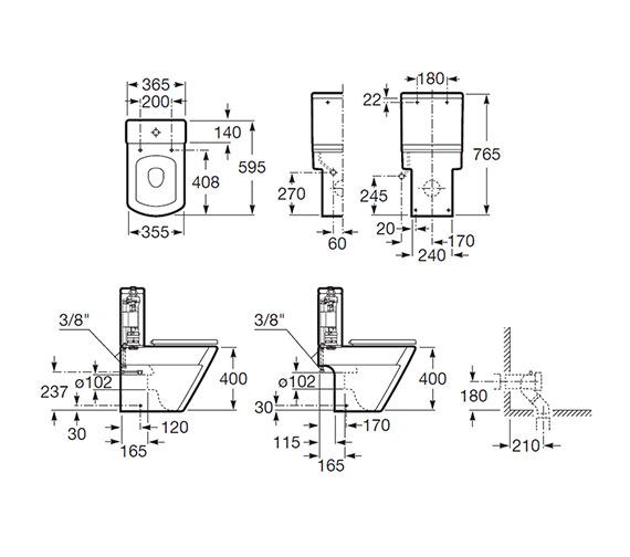 Technical drawing QS-V56707 / 342627000