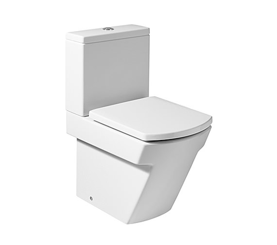 Roca Hall ECO Close Coupled WC Pan 595mm - 34262S000