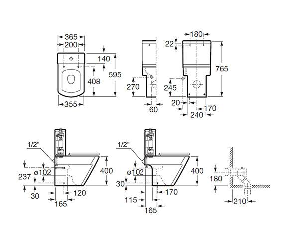 Technical drawing QS-V56708 / 34262S000