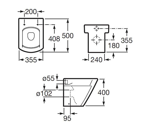 Technical drawing QS-V56710 / 347627000