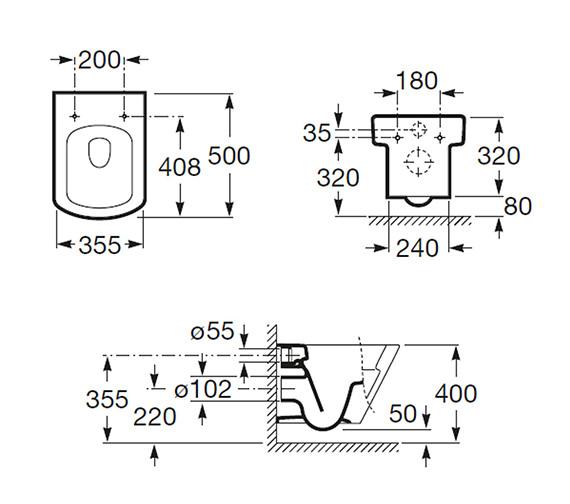 Technical drawing QS-V56711 / 346627000