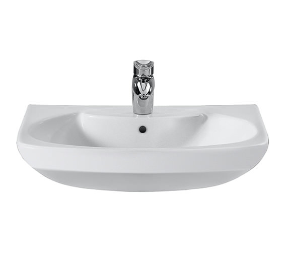Roca Senso Wall Hung Basin 580 x 460mm With One Tap Hole - 327512000