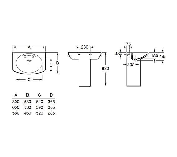 Technical drawing QS-V56715 / 327512000